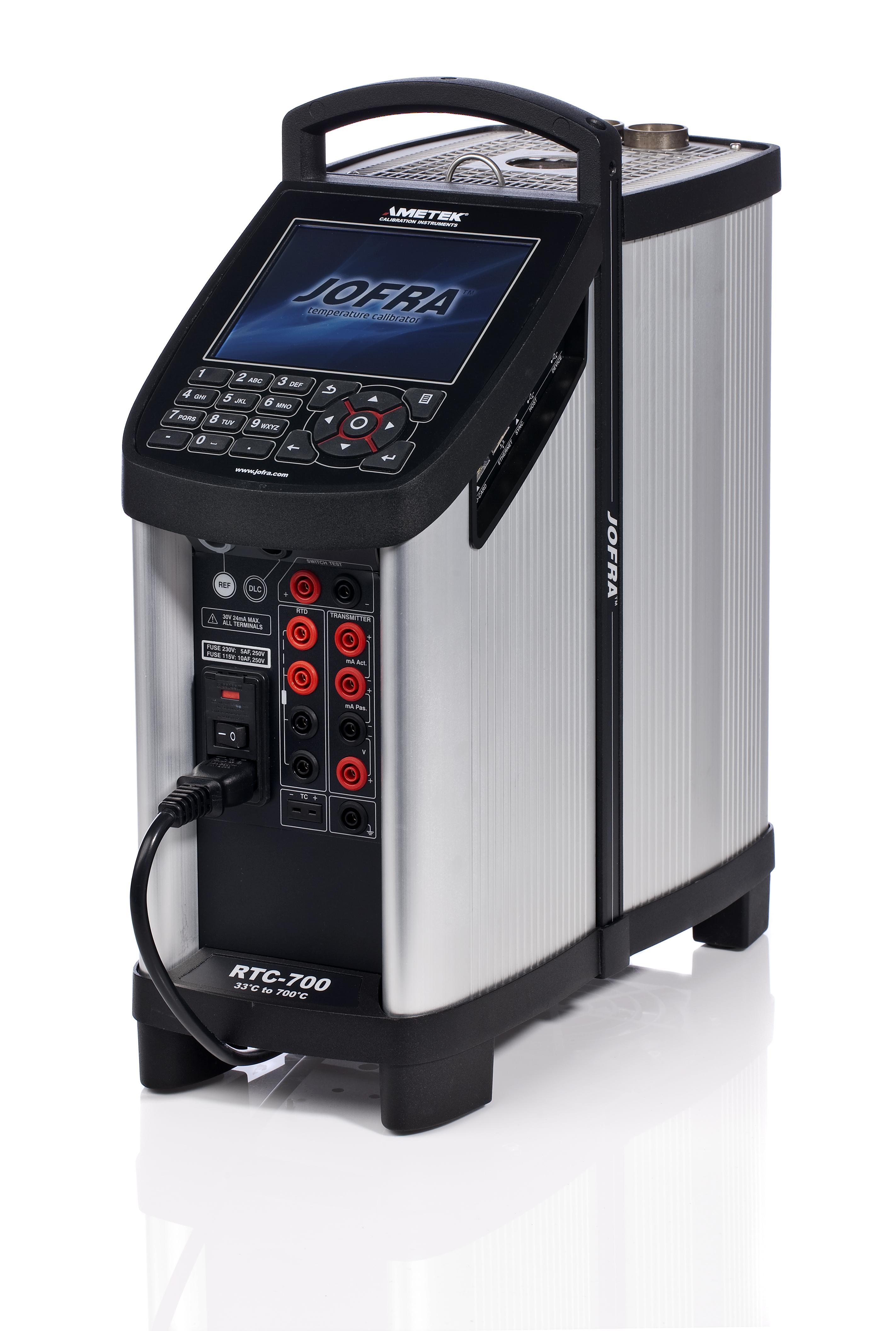Ametek Jofra RTC700 Dryblock Temperature Calibrator
