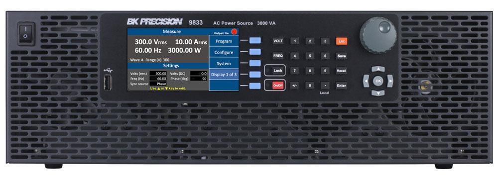 B&K Precision 9833 AC Power Source