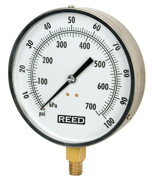 Reed 421AVND Series Pressure Gauges, Vacuum to 500 PSI
