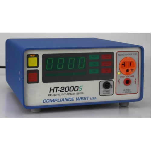 Compliance West HT-2000S AC Output/Ground Continuity Hipot Tester