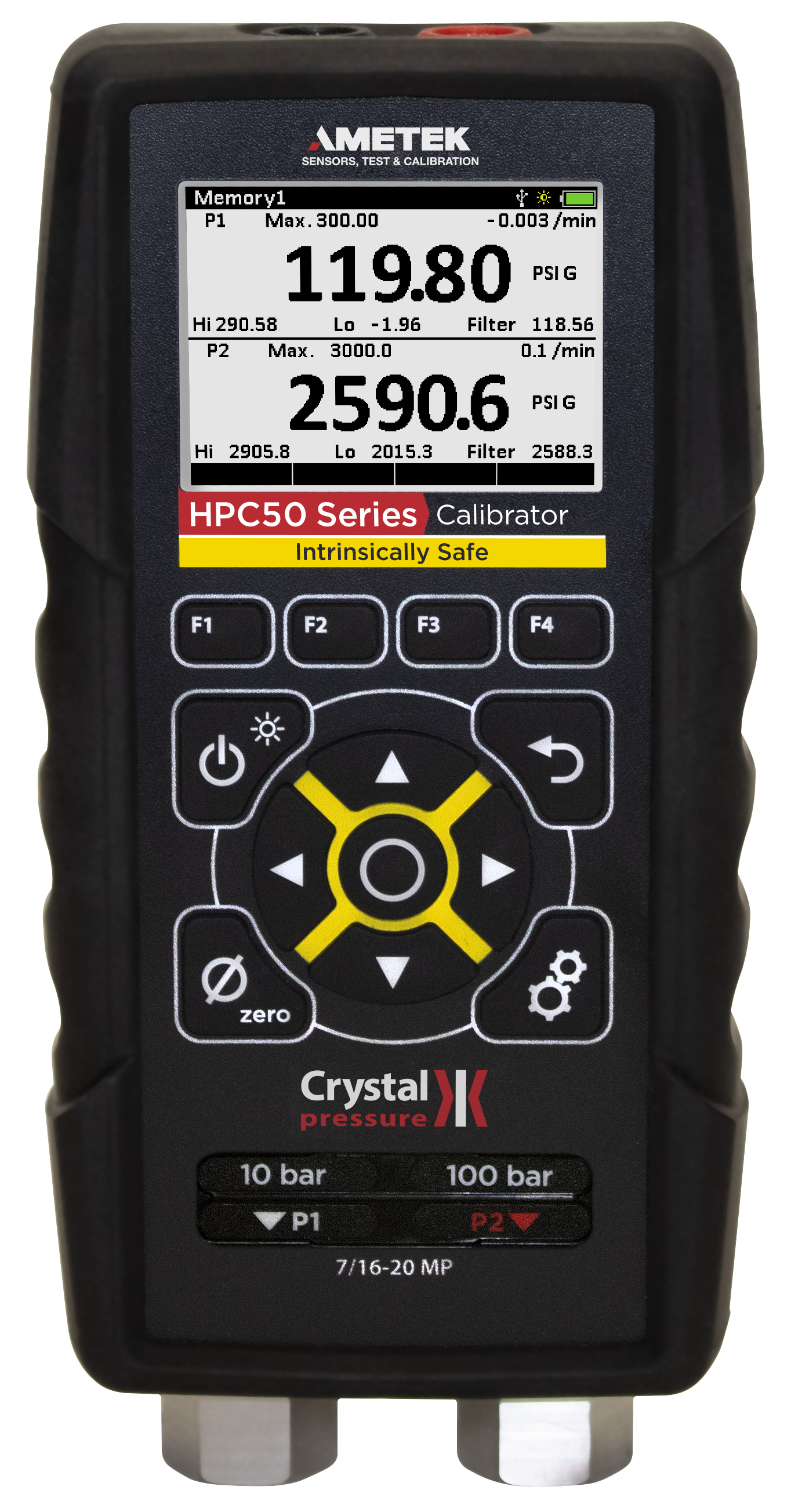 Crystal Engineering HPC50 (HPC51 / HPC2) Series Intrinsically Safe Pressure Indicator