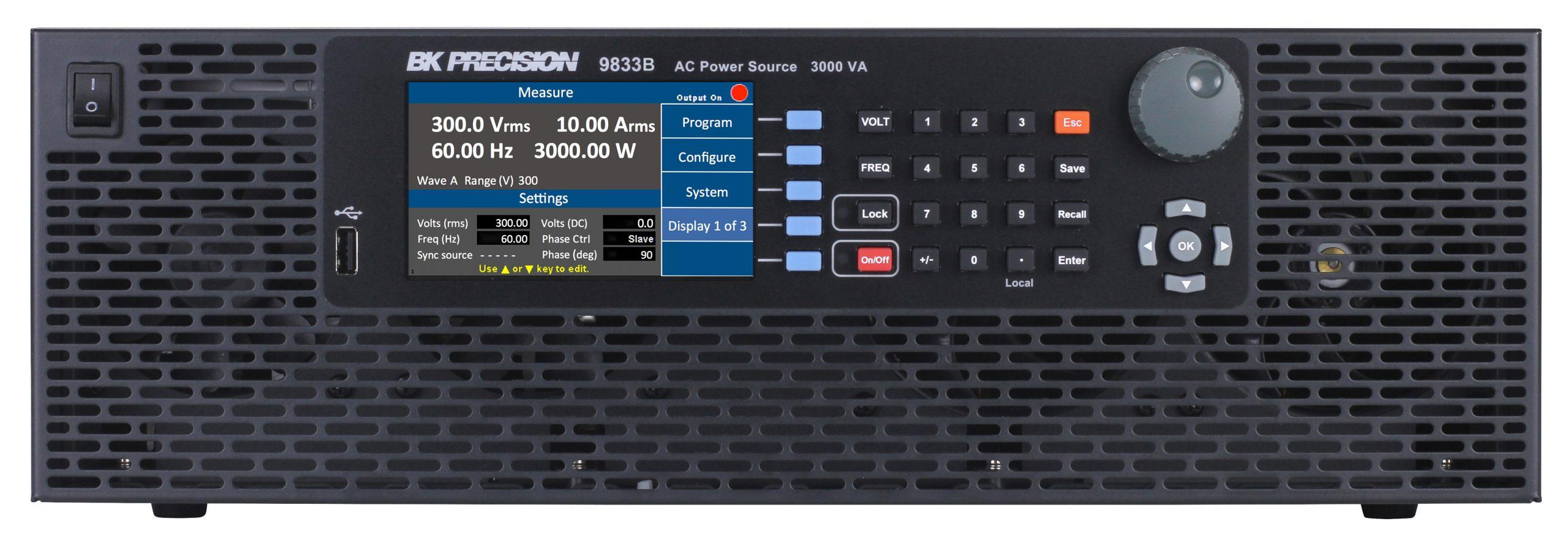 B&K Precision 9833B AC Power Source