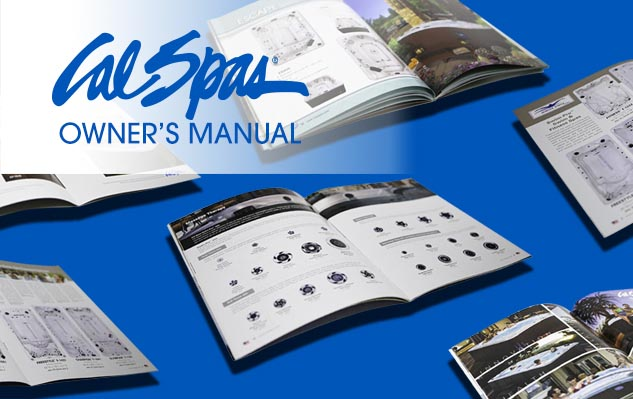 Owner's Manuals At Calspas Com