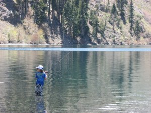 Convict Lake opens for business on Saturday for the trout opener. (MIKE STEVENS)