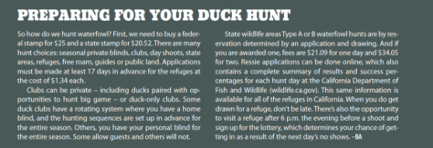 Preparing For Your Duck Hunt