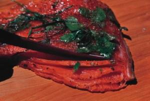 final product of Salmon Gravlax
