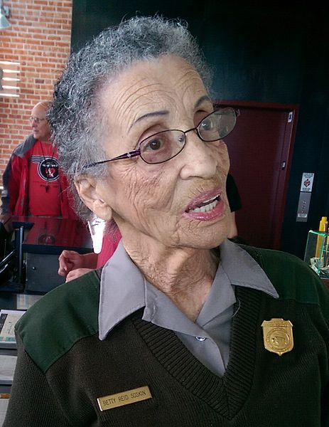 Betty Reid Soskin, 94 and the nation's oldest National Park Ranger, will light the national Christmas tree in Washington. (Jim Heaphy/Wikimedia)