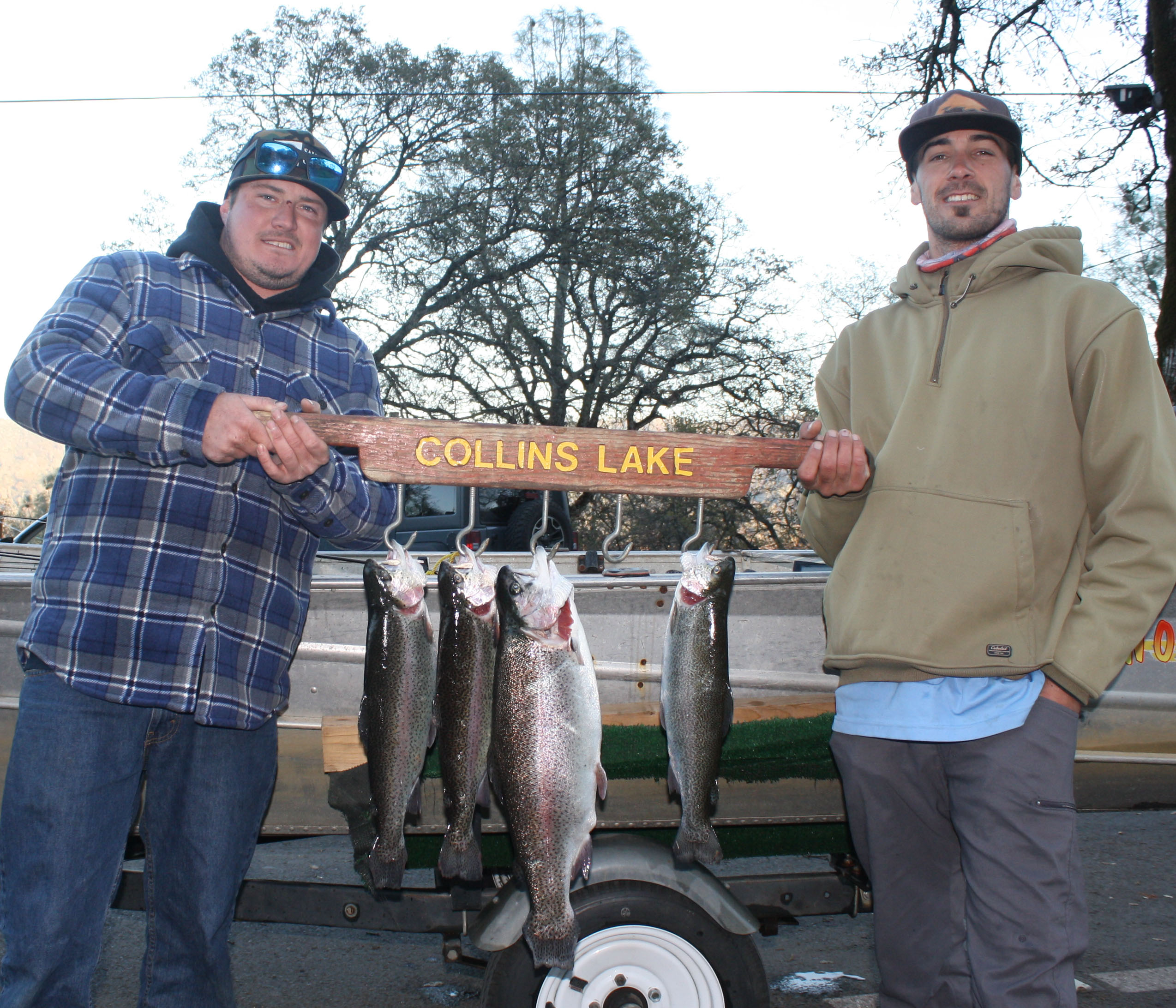 Winter fishing at collins lake for Sheldon lake fishing