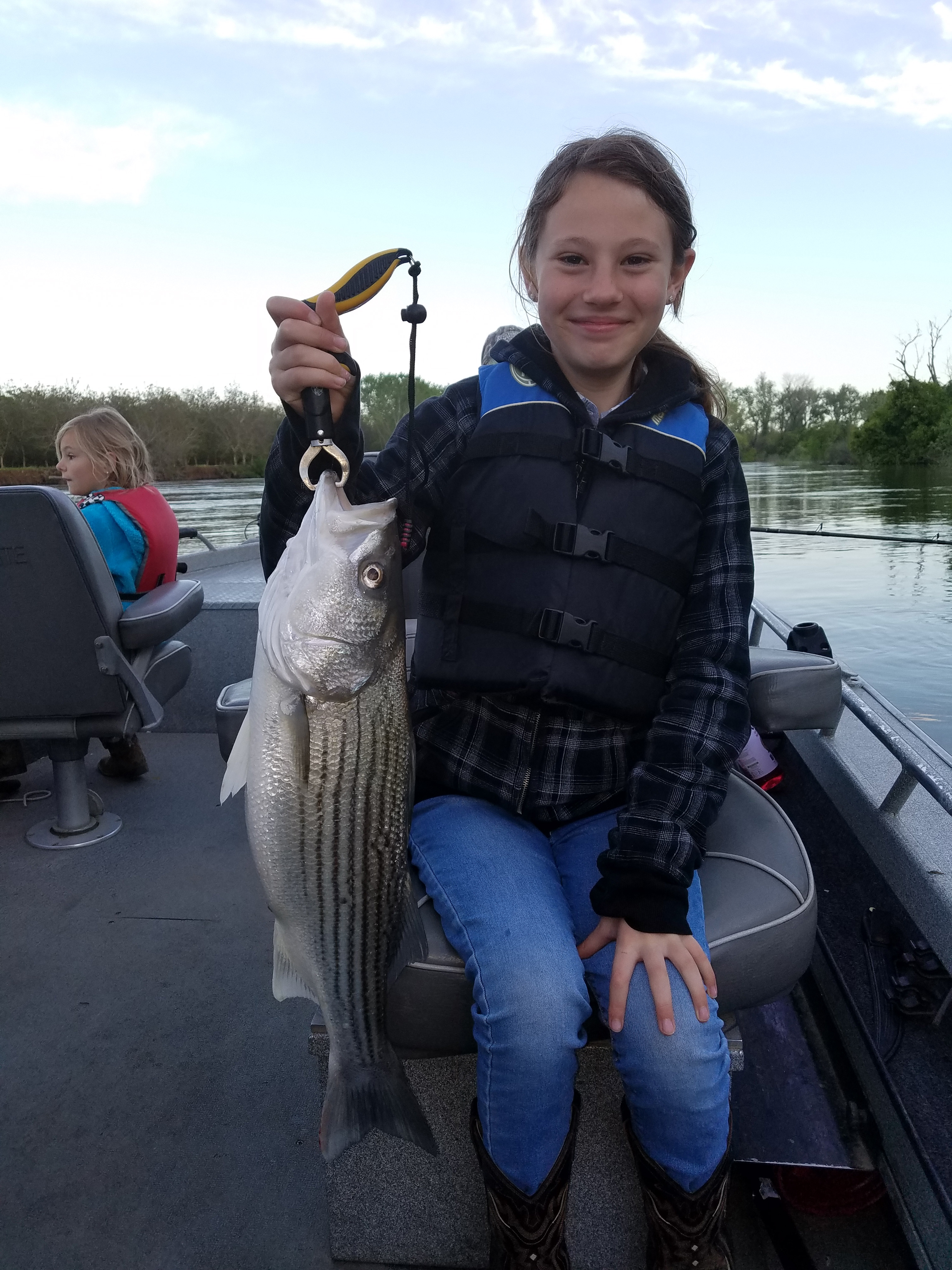 Stripers biting on feather river for Feather river fishing report