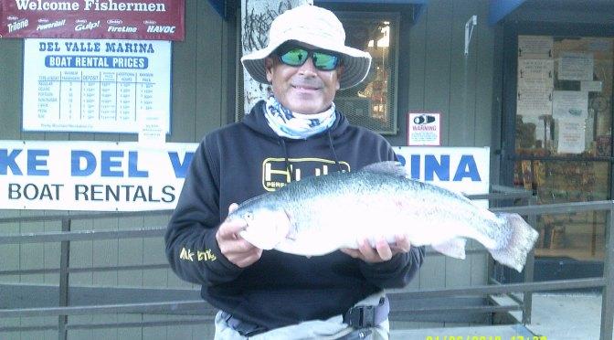 Lake del valle fishing update for Lake del valle fishing report