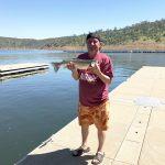 Trout Plants Replenish Lake McClure Fishery