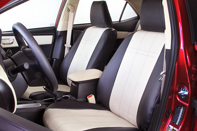 2016 Toyota Corolla Seat Cover Protection From Caltrend
