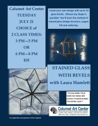 STAINED GLASS WITH BEVELS 7.14.2020