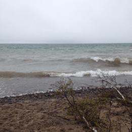 Windy Day Lake Superior