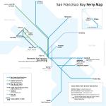 San Francisco Bay Ferries Transit Maps By Calurbanist