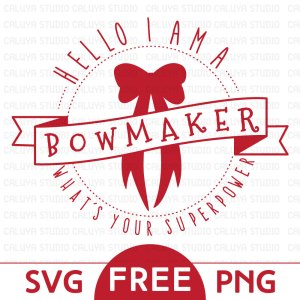 Free bowmaker SVG & PNG download