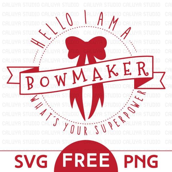 Free bowmaker SVG & PNG download