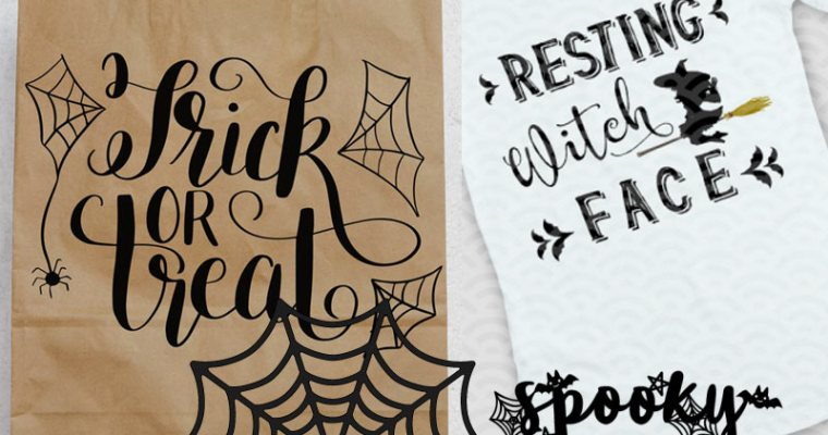 10 FREE Halloween SVG Cutting Files You Can't Miss