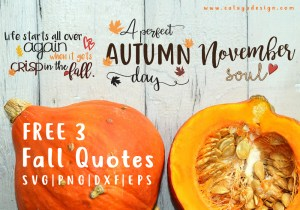 fall quote bundle free SVG