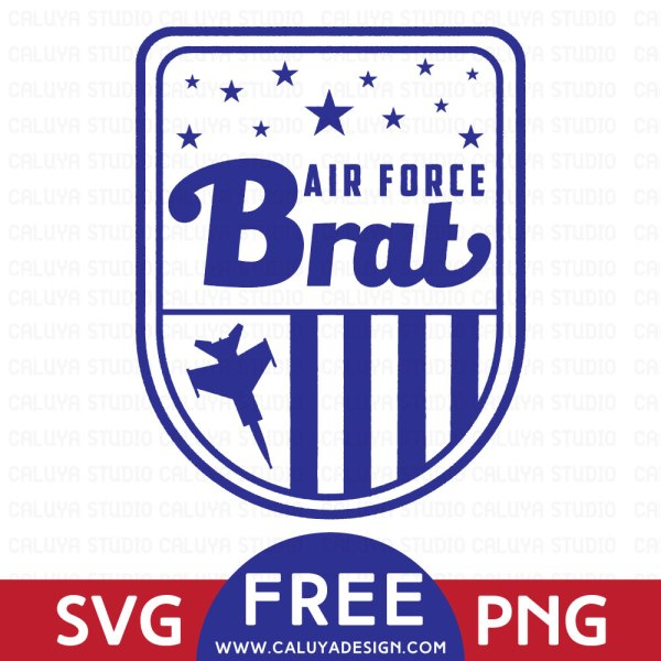 Free Air Force SVG File Download