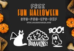 Fun Halloween Free SVG