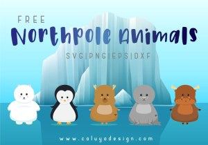 northpole animals free SVG