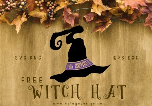 Witch Hat Free SVG