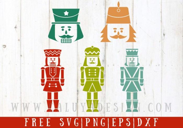 Nutcracker Free SVG