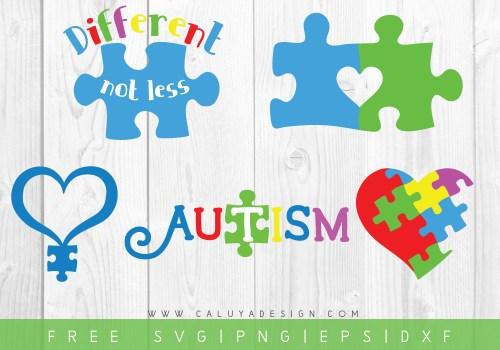 Free Autism Awareness SVG