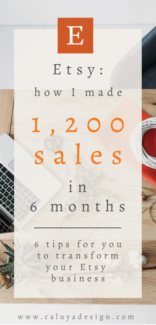 Esty: How I Sold 1200 Listing in 6 Months