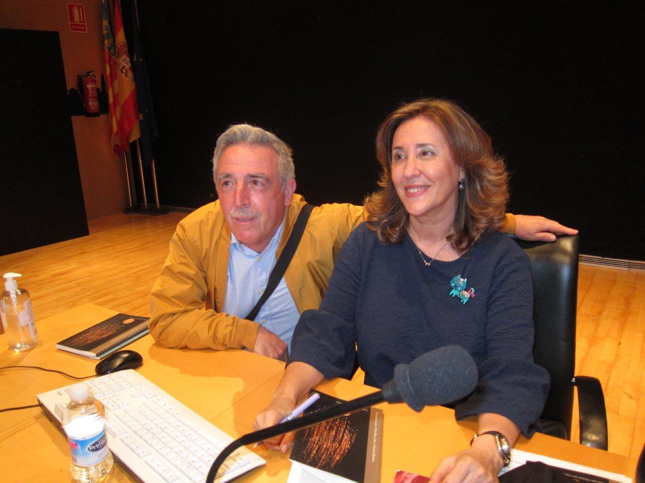 Presentación poemario Pilar Blanco