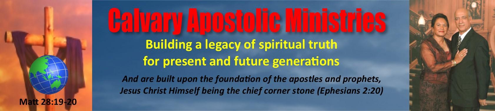 Calvary Apostolic Ministries