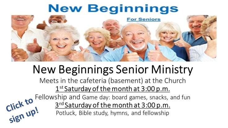 sept 26 new beginnings