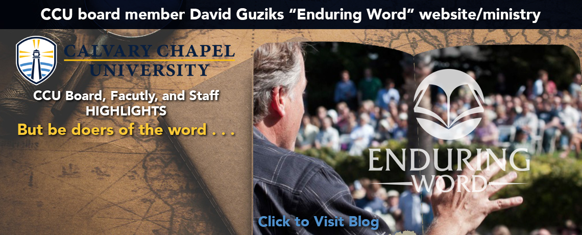 CCU Team Highlights | Enduring Word Blog