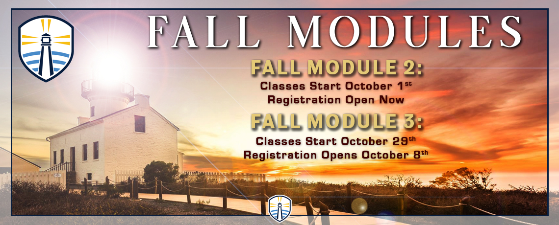 Fall Modules 2 and 3