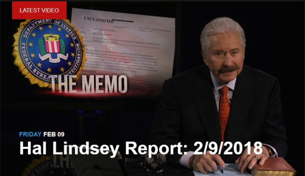 Hal Lindsey Report 2-9-18