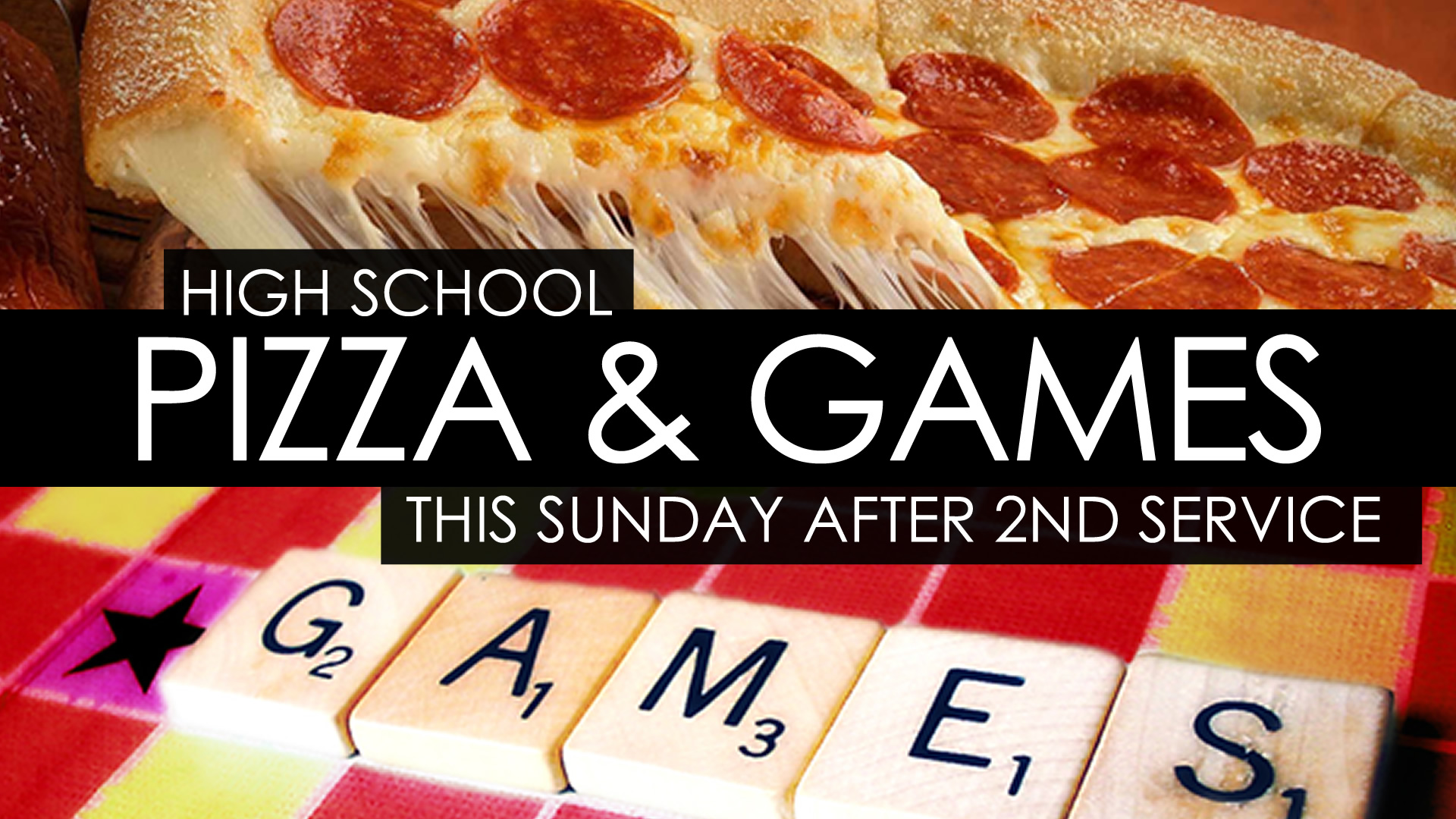 High School Pizza Amp Games