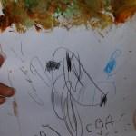 Textured tree by Preschool Student