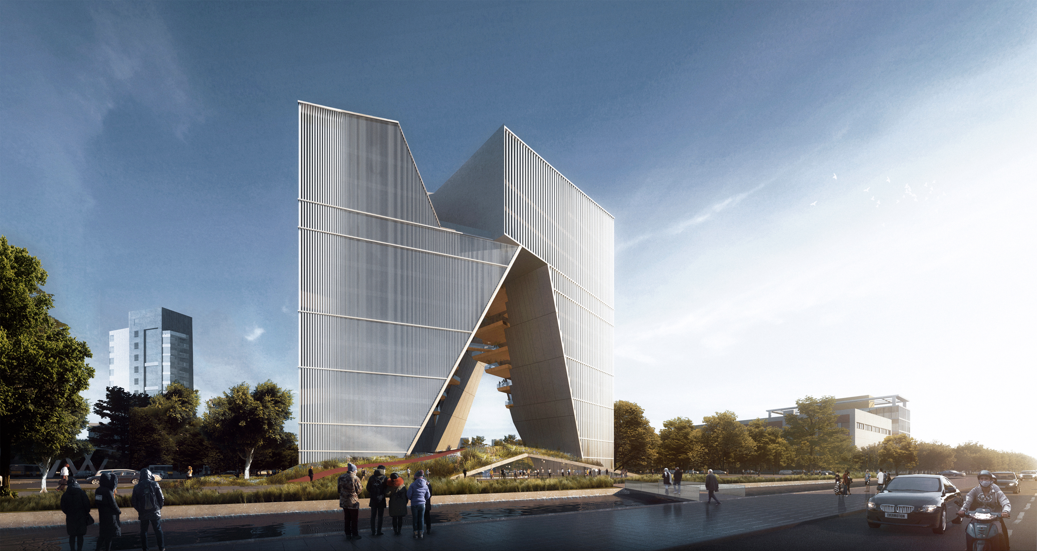 Vanke Chongqing Headquarter Design Proposal Lwkp Calvert