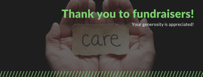 Fundraiser thank you graphic