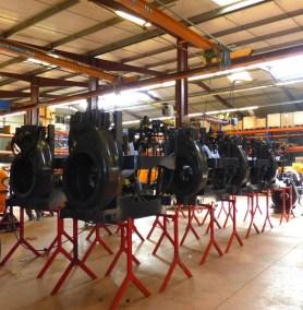 photo montage des machines agricole - Société Calvet