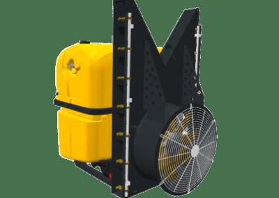 Aéroconvecteur porté turbine linéaire