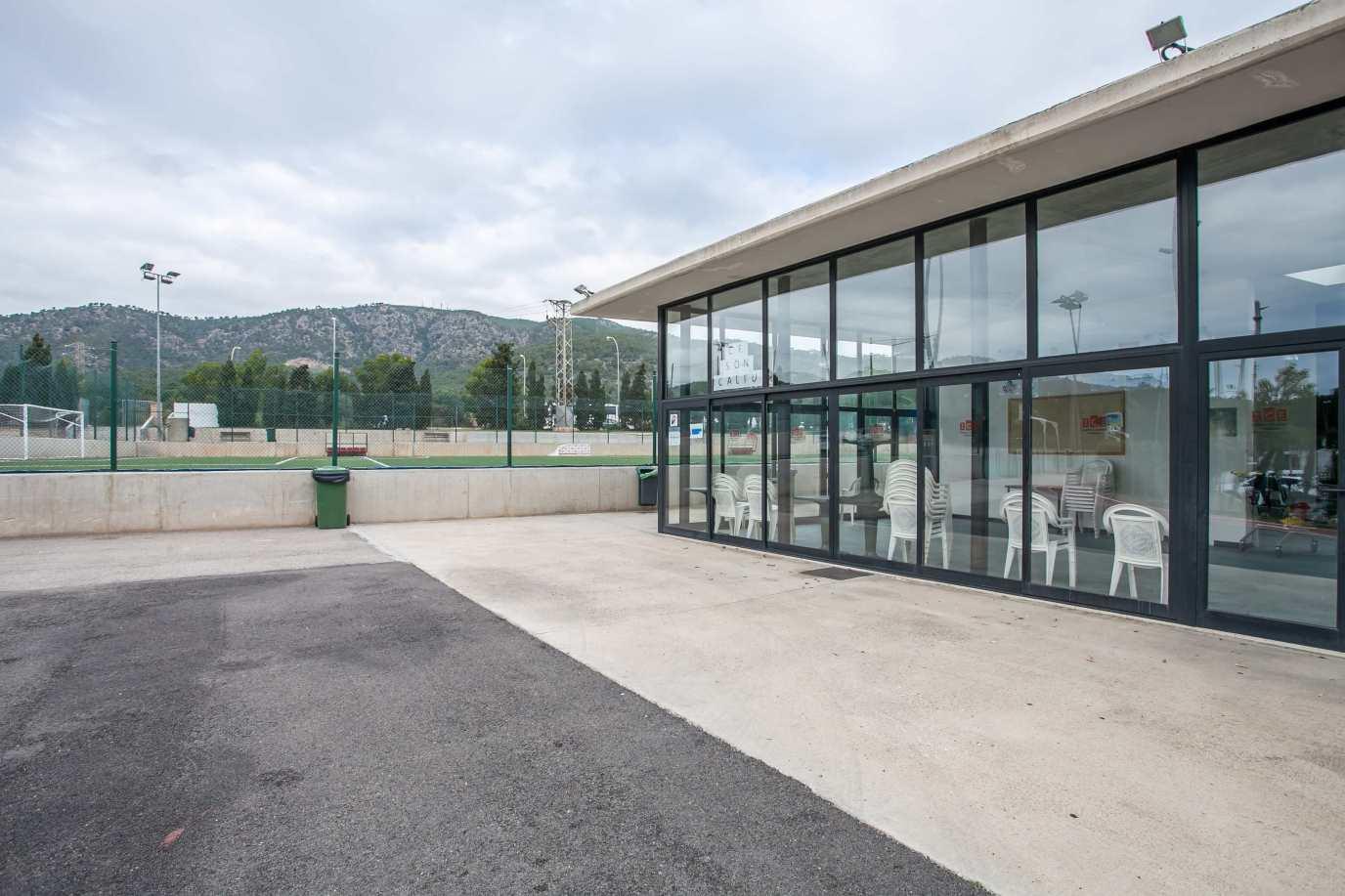 Zona polideportiva de Son Caliu- Instalaciones deportivas de Calvià