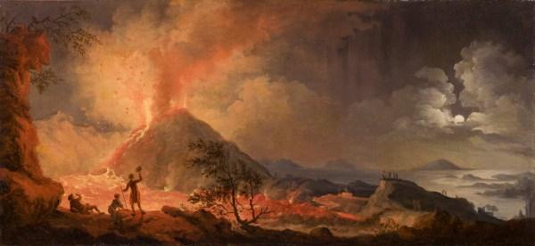 Eruption of Mount Vesuvius Pierre
