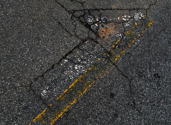 Road Paint Artifact, Atlanta,GA
