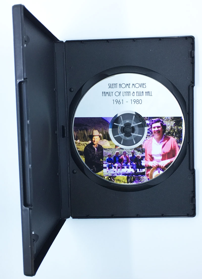 Silent Home Movies – Family Of Lynn & Eula Hall – DVD