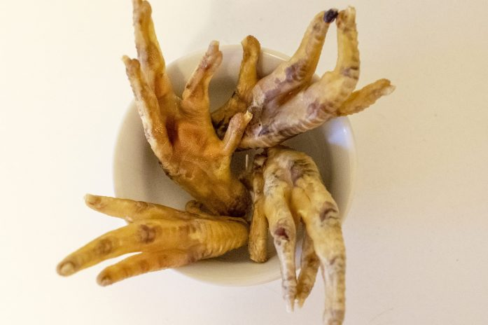 homemade dehydrated chicken feet for dogs