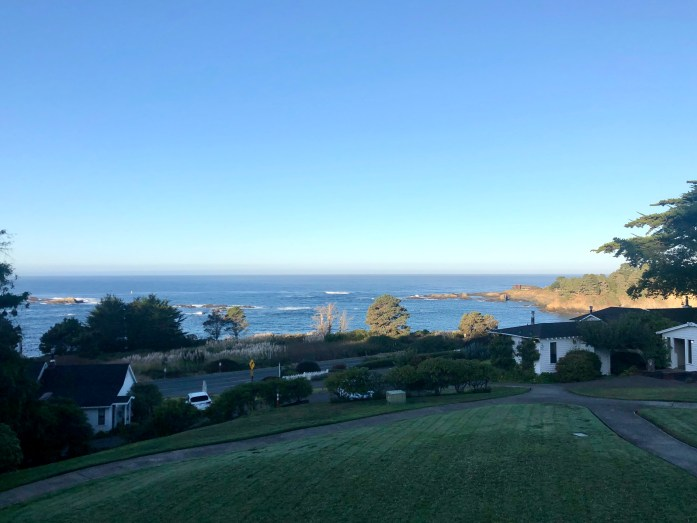 little river in mendocino ocean view room