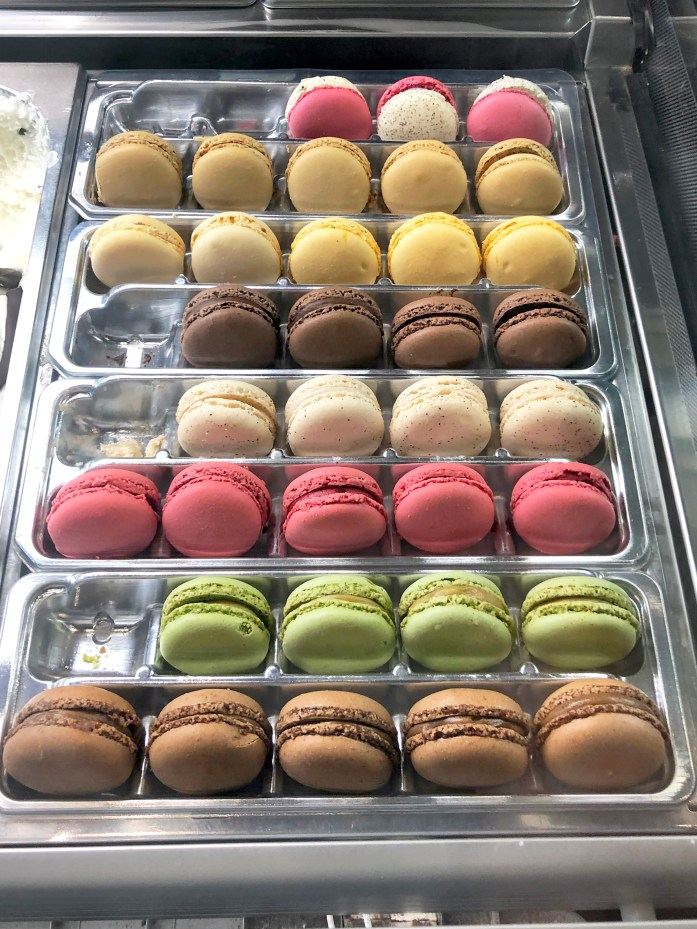 macarons from a french bakery in paris
