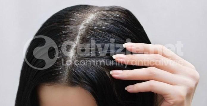 perché i capelli diventano bianchi